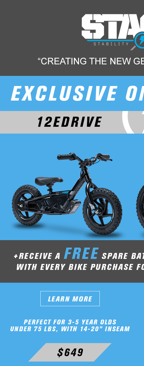 12e drive stacyc