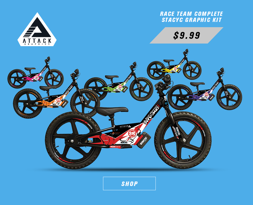 attack graphics race team graphic kit