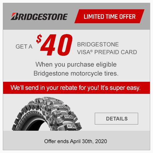 Bridgestone Rebate