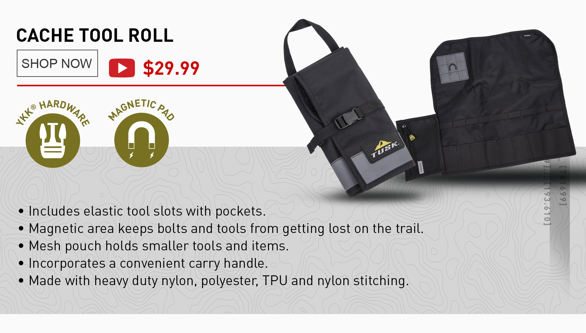 Cache Tool Roll