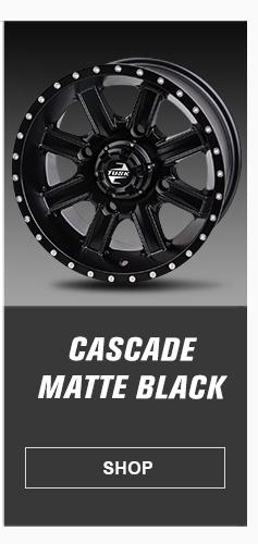 Cascade Matte Black