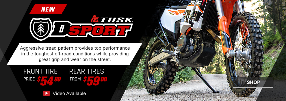 Tusk Dsport ADV Tires