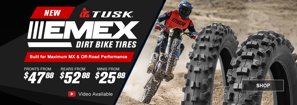 Tusk EMEX Dirt Bike Tires