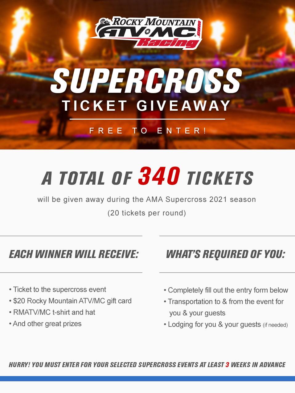 ultimate supercross experience