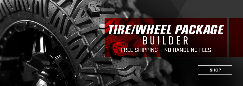 ATV Tire and Wheel Package Builder