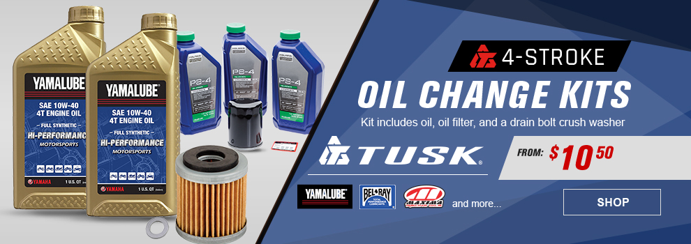 Tusk 4-Stroke Oil Change Kits