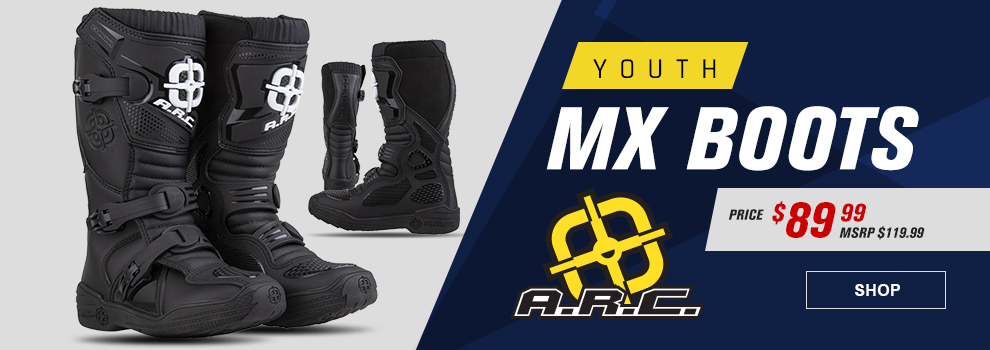 A.R.C. Youth MX Boots