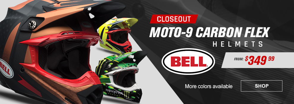 Bell Closeout Moto-9 Flex Dirt Bike Helmets