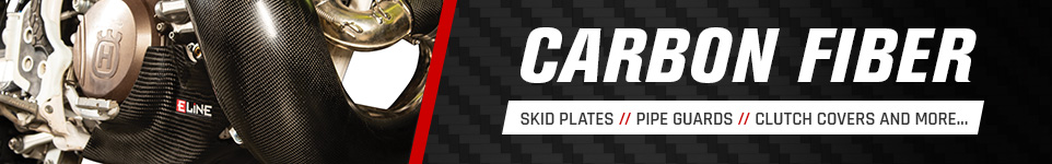 Carbon Fiber - Skid Plates // Pipe Guards // Clutch Covers and More...
