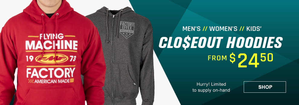 Closeout Hoodies