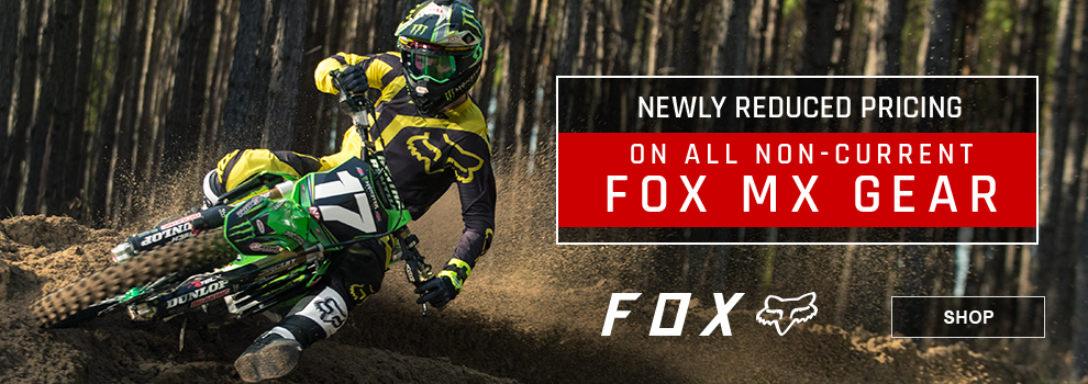 Fox Closeout Motocross Gear