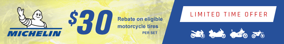 Michelin $30 Fall Rebate