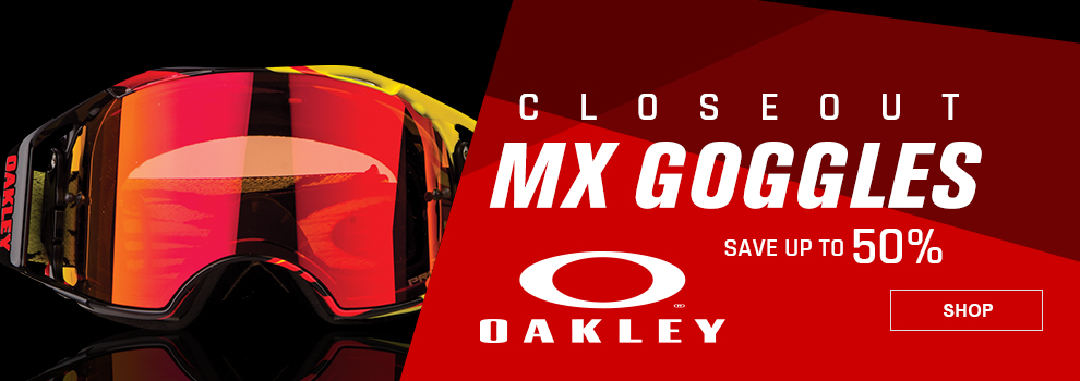 Oakley Closeout Motocross Goggles