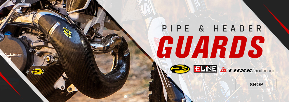 Dirt Bike Pipe Guards
