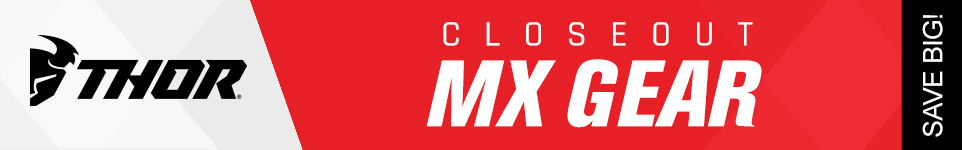 Thor closeout MX gear