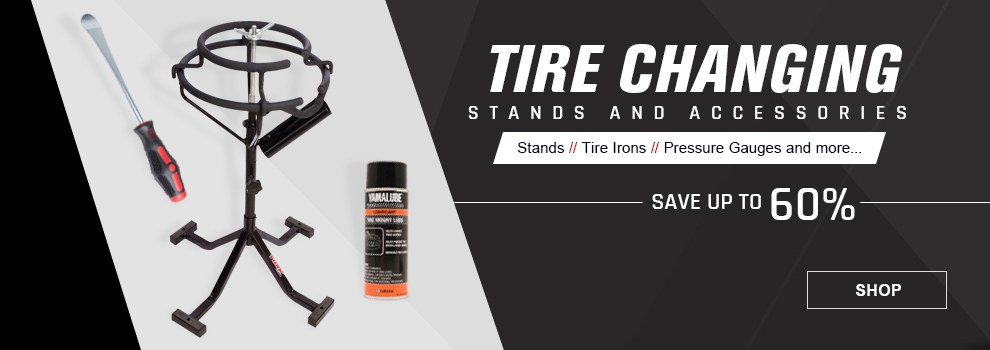 Tire Changing Stands and Tools