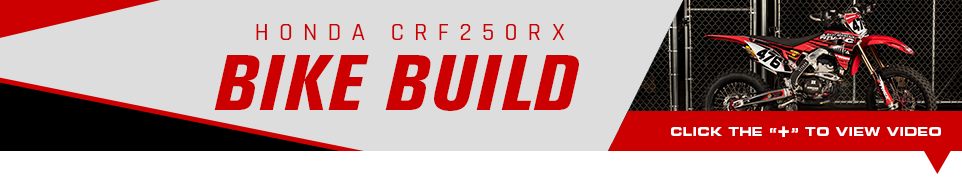2019 Honda CRF250RX Bike Build - Click below to view video