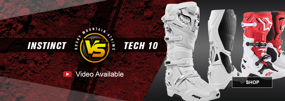 Fox Instinct VS Alpinestars Tech 10 MX Boots