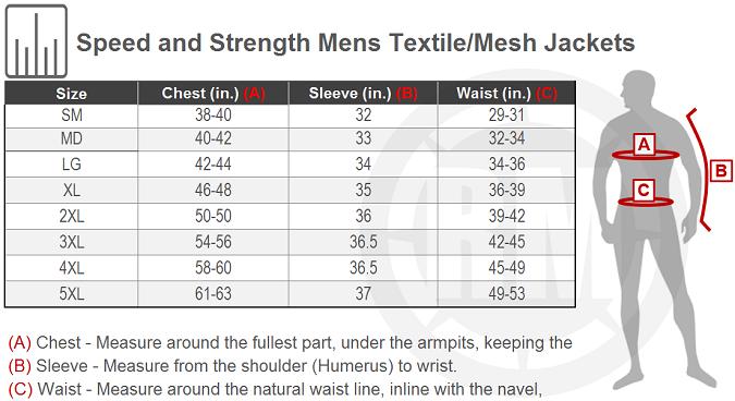 Speed /& Strength Standard Supply Reinforced Moto Shirt Size 2XL Black