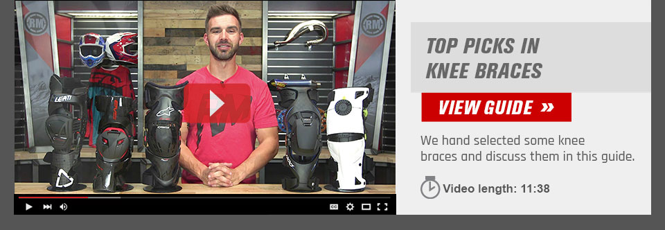 Dirt Bike Knee Brace Buyer  Guide