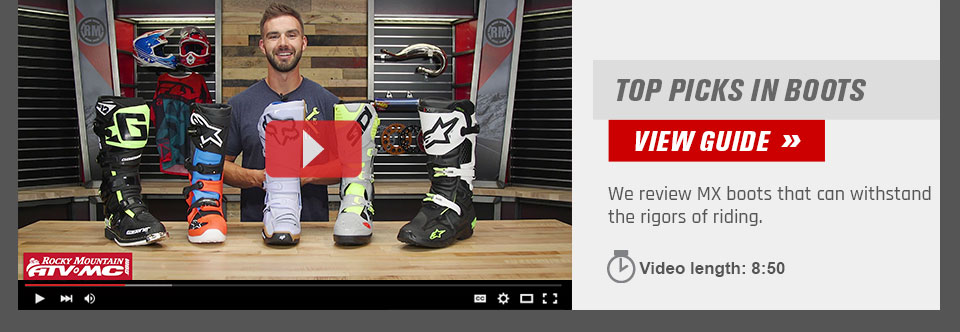 Dirt Bike Boots Buyer Guide