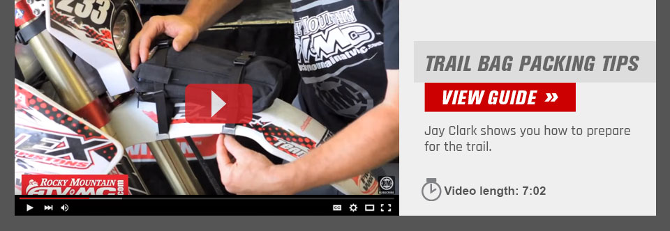 Dirt Bike Trail Packing Tips