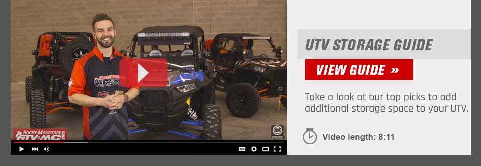 UTV Storage Guide