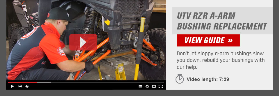 UTV A-Arm Bushing Replacement