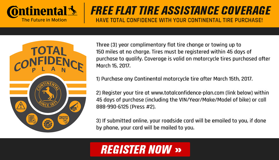 Continental Total Confidence Plan