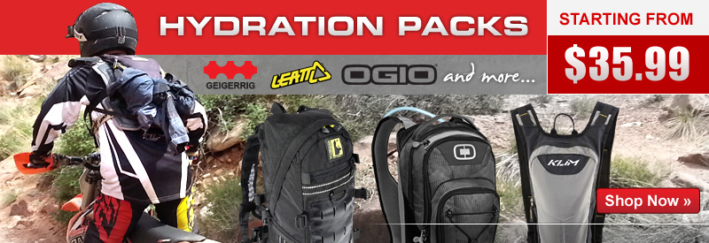 Adventure Touring Hydration Packs