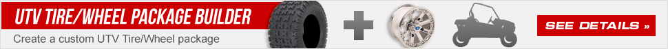 UTV Tire/Wheel Kit Builder