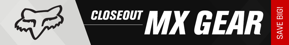 Fox Closeout MX Gear - Save Big!
