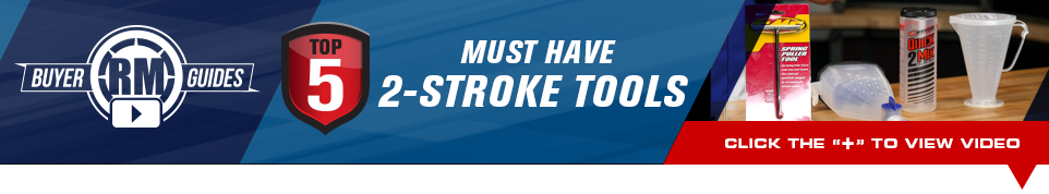 Top 5 must have 2-stroke tools